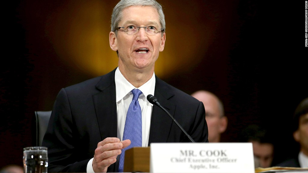 tim cook senate