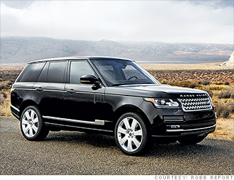 Suv Land Rover Autobiography Best Cars For Billionaires Cnnmoney