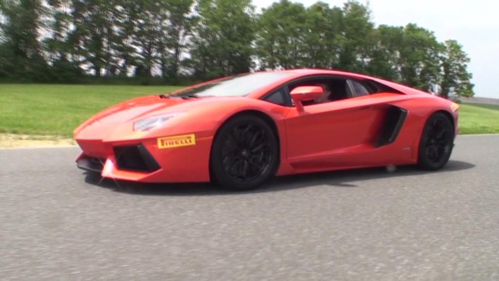The right way to drive a Lamborghini