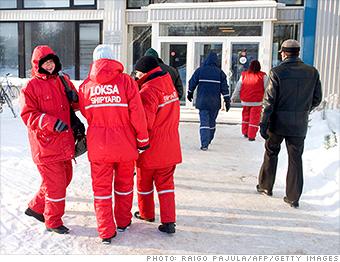 hardest working countries estonia