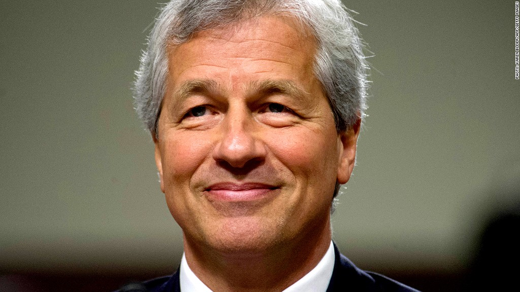 jamie dimon jp morgan earnings