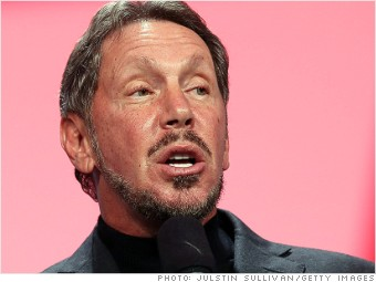 one million salary larry ellison