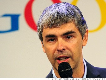 one million salary larry page