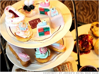 royal baby afternoon tea