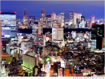 most expensive places expats tokyo