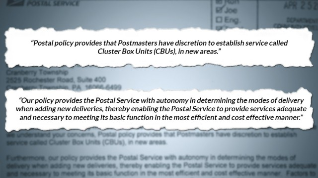 Postal Service looks to end at-your-door mail