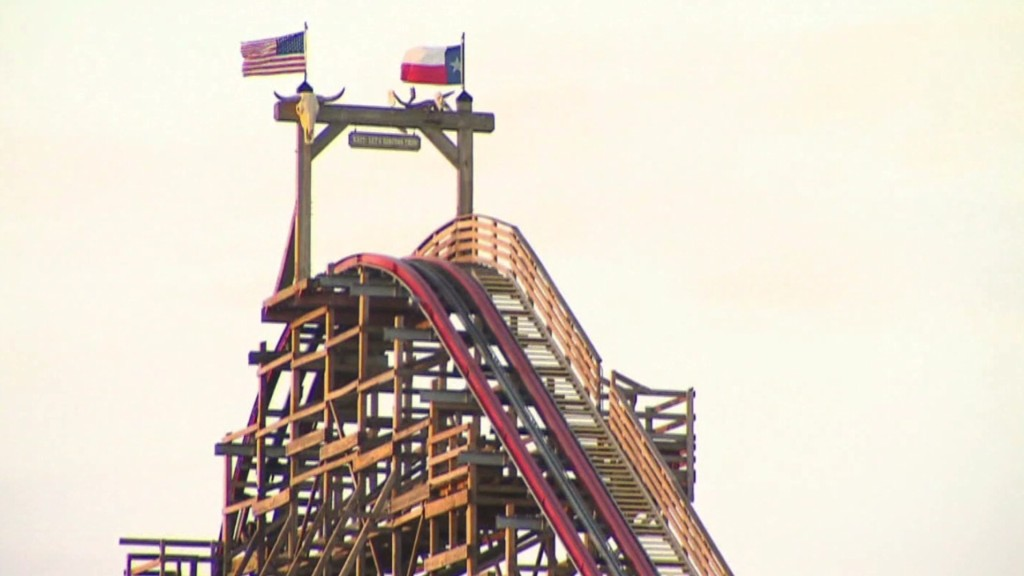 Six Flags stock lower after fatality