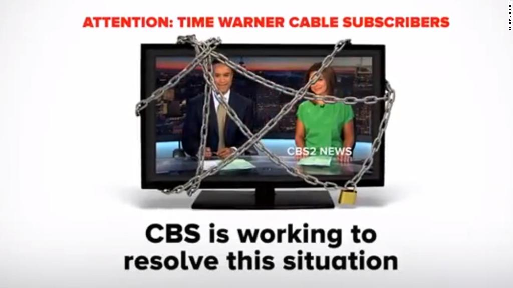 cbs time warner