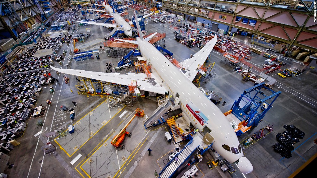 boeing 787 dreamliner build