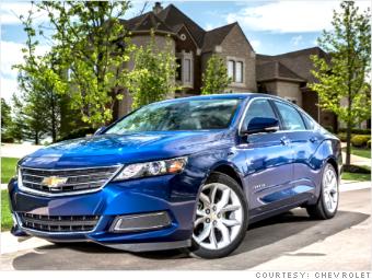 big cars 2014 chevrolet impala