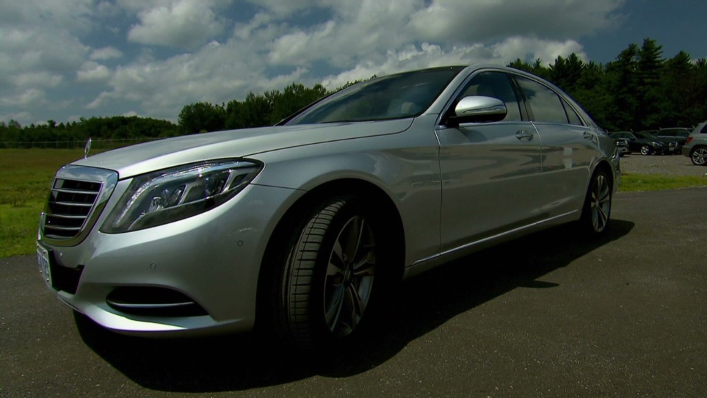 The Mercedes-Benz that nearly drives itself