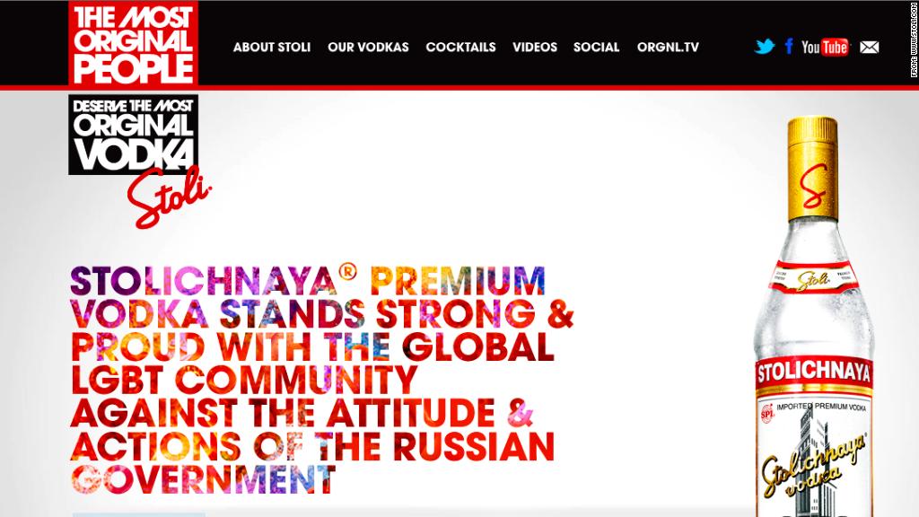 stoli vodka russia boycott