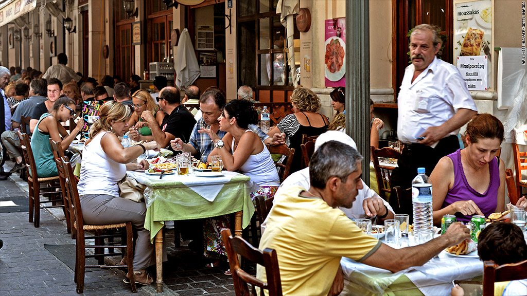 greece restaurant tax