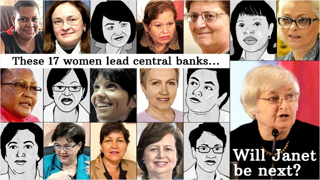 female economists pick janet but leave gender out of it female economists pick janet but