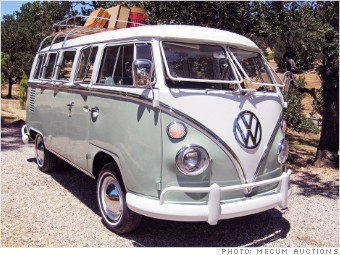 Pebble Beach Cars Vw Bus