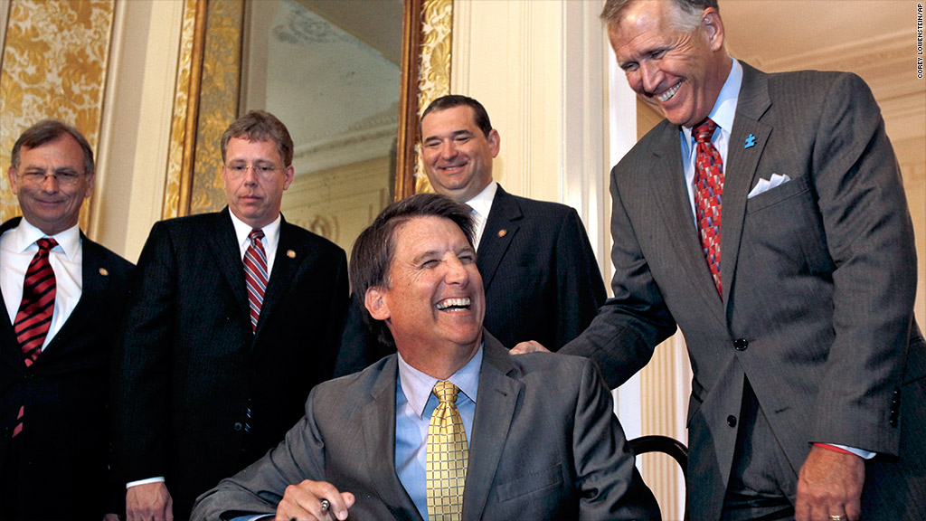 north carolina gov signs bill