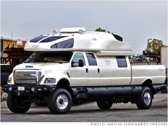 2008 Ford F750 World Cruiser Oddball Cars From Pebble Beach Auctions Cnnmoney