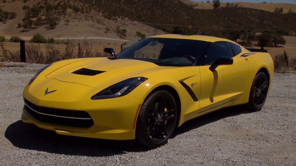 Inside the brand new Corvette Stingray