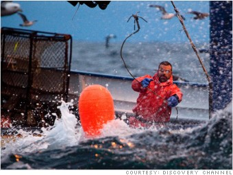 most dangerous jobs fisherman