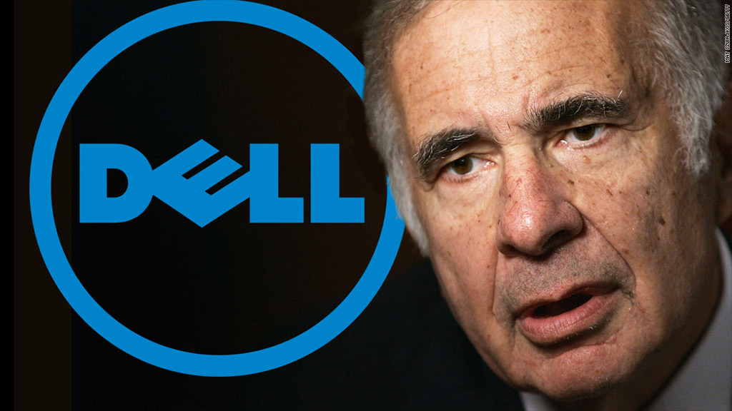 carl icahn dell shares