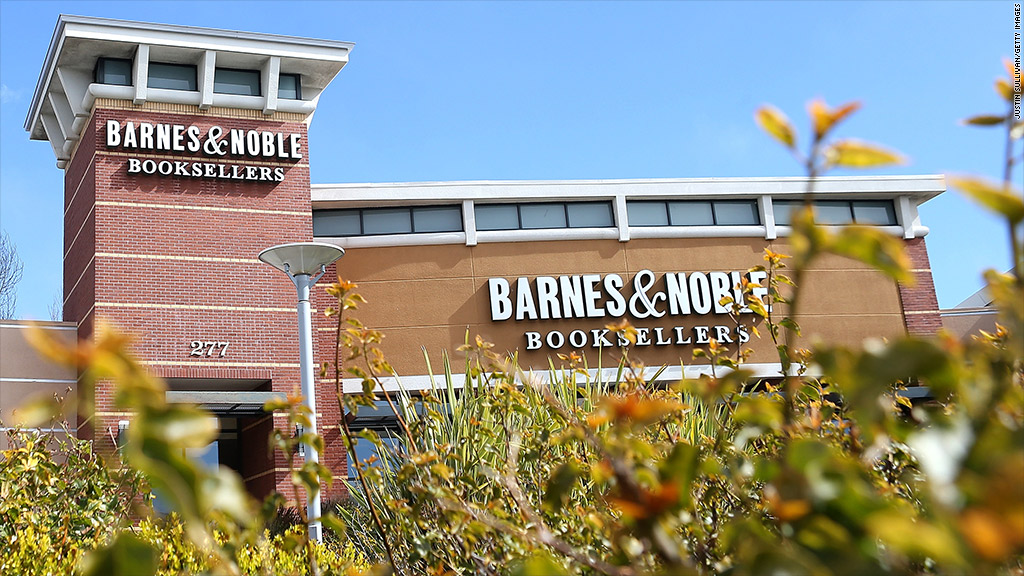 barnes and noble shares loss