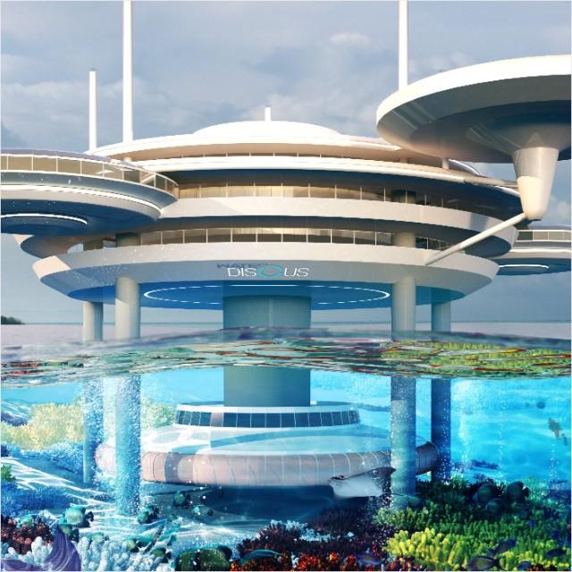 Dubai Water Discus Hotel