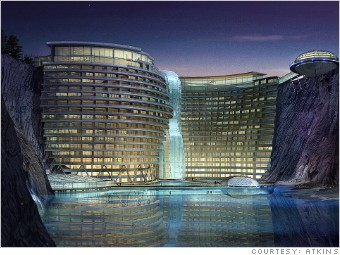 China Shimao Wonderland 6 Stunning Undersea Hotels