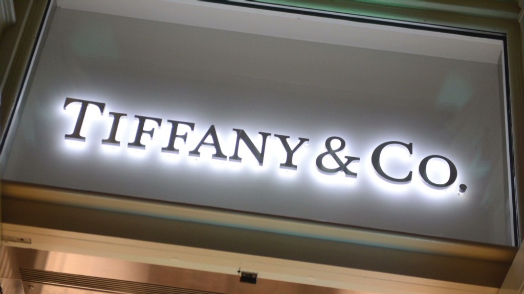 Tiffany at all-time high. Thanks, China!