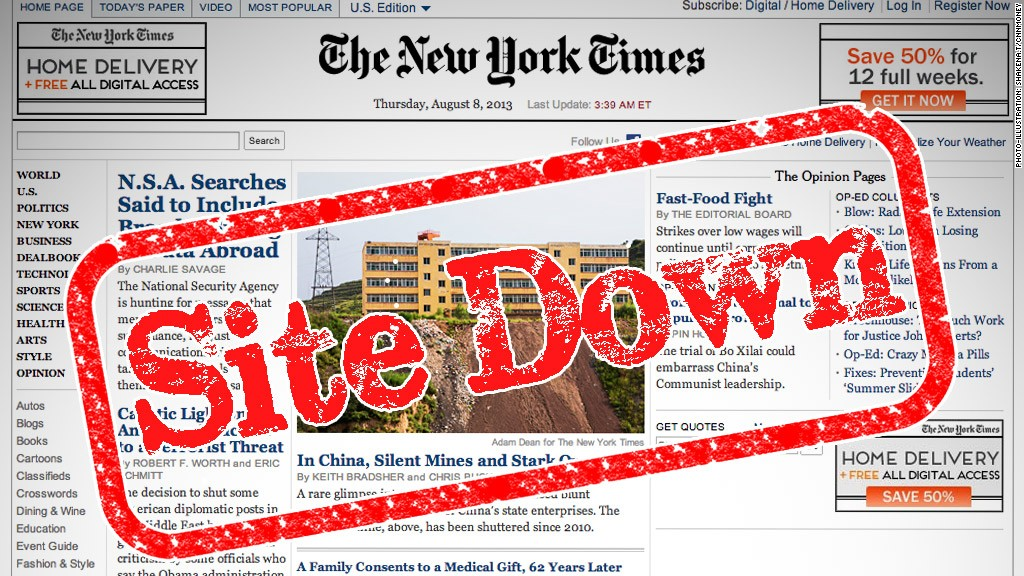 nyt site down