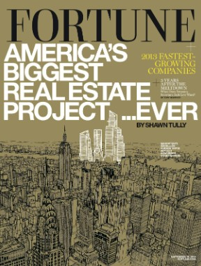 The man behind the largest real estate project in U.S. History