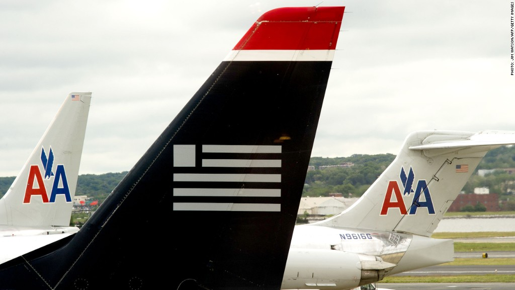 us airways american merger