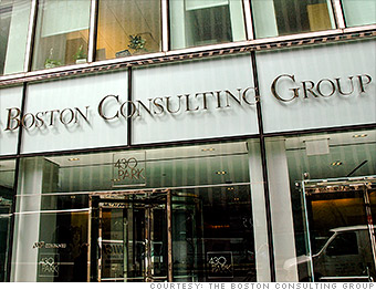 top employers the boston consulting group