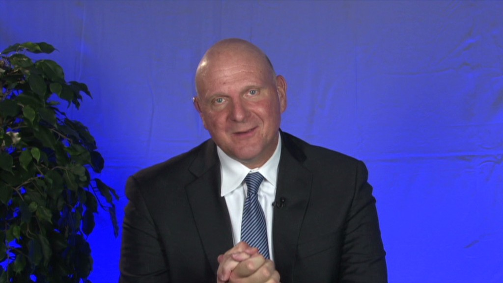 Ballmer on his successor and Nokia