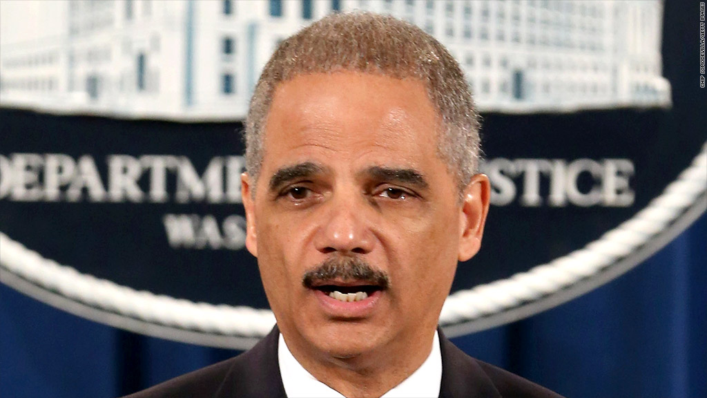 eric holder sp lawsuit