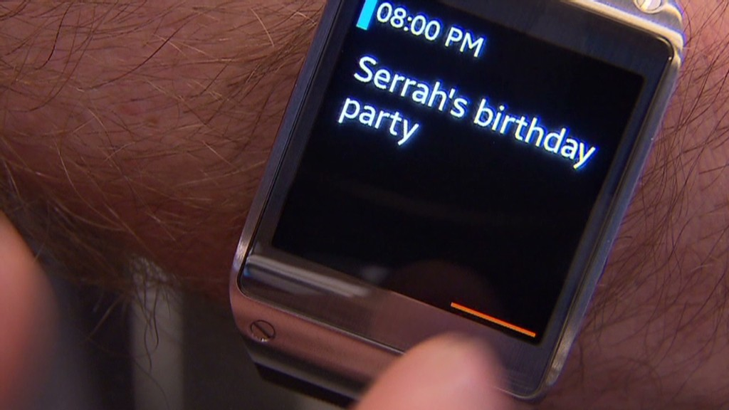 Hands on with Samsung's Galaxy Gear watch
