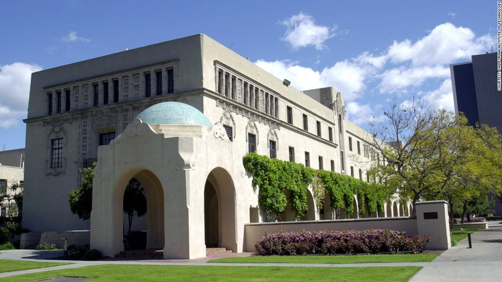 highest paid alumni caltech