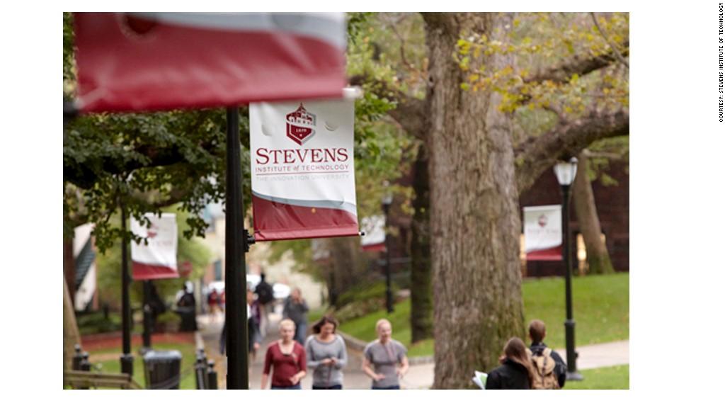 highest paid alumni stevens institute