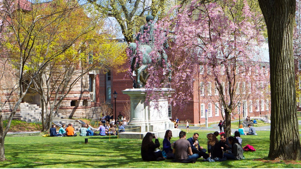 Brown University Colleges With The Highest Paid