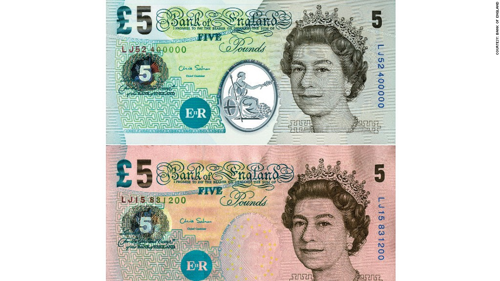 bank of england bank notes