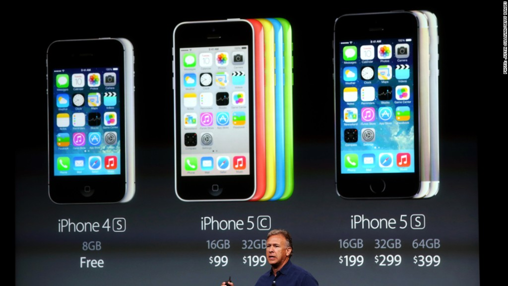 Apple Has Sold the Most iPhone 5S of the New iPhones