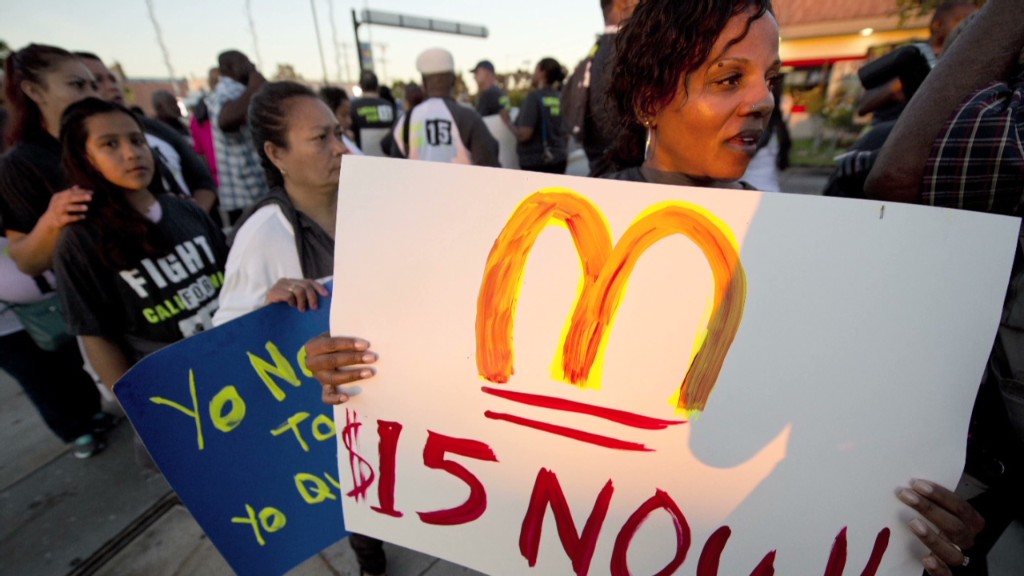 Will fast food unions be the next movement?