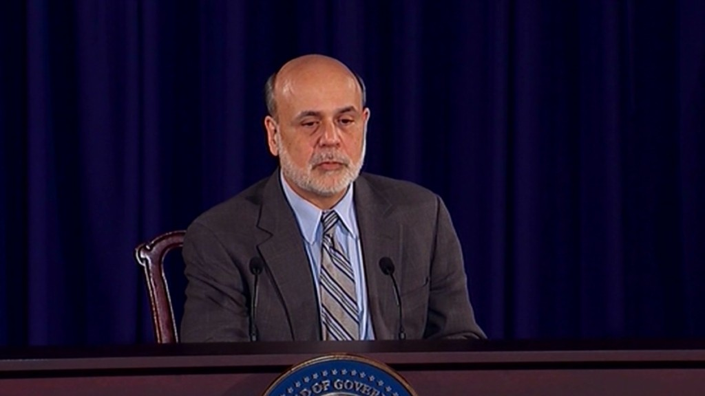 Bernanke's regrets from financial crisis
