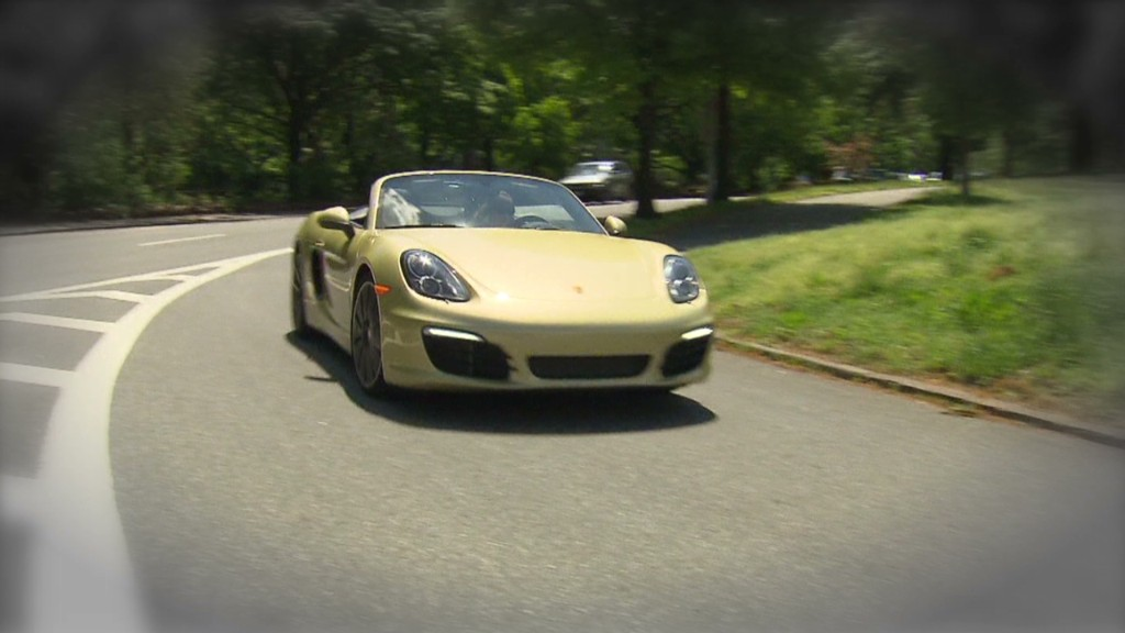 Porsche Boxster S: One fun driver's car