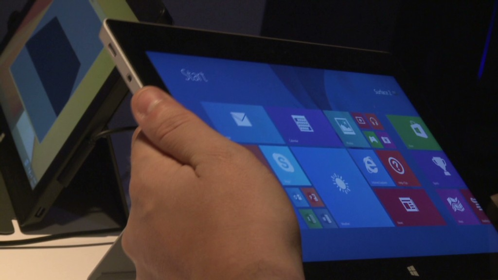 First impressions of Microsoft's Surface 2