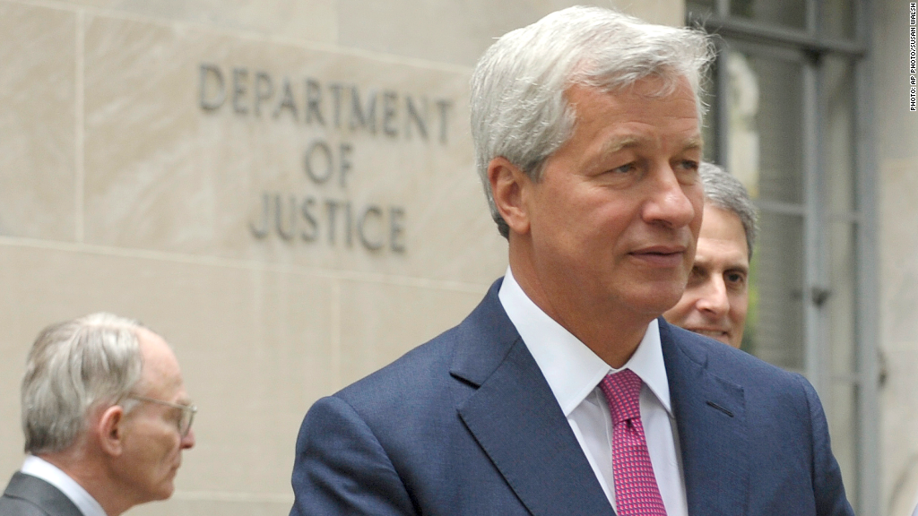 jamie dimon department of justice