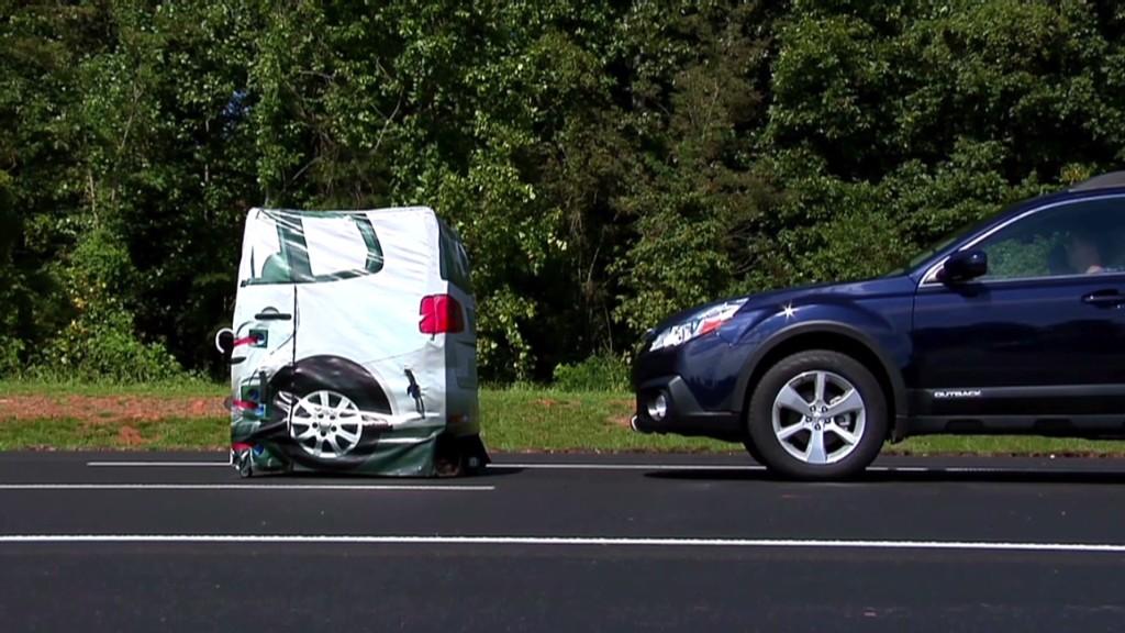 Subaru's crash avoidance tech ranks first