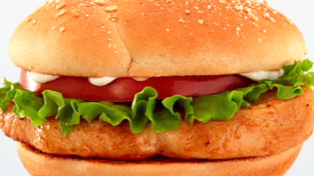McDonald's finally offers healthier meals