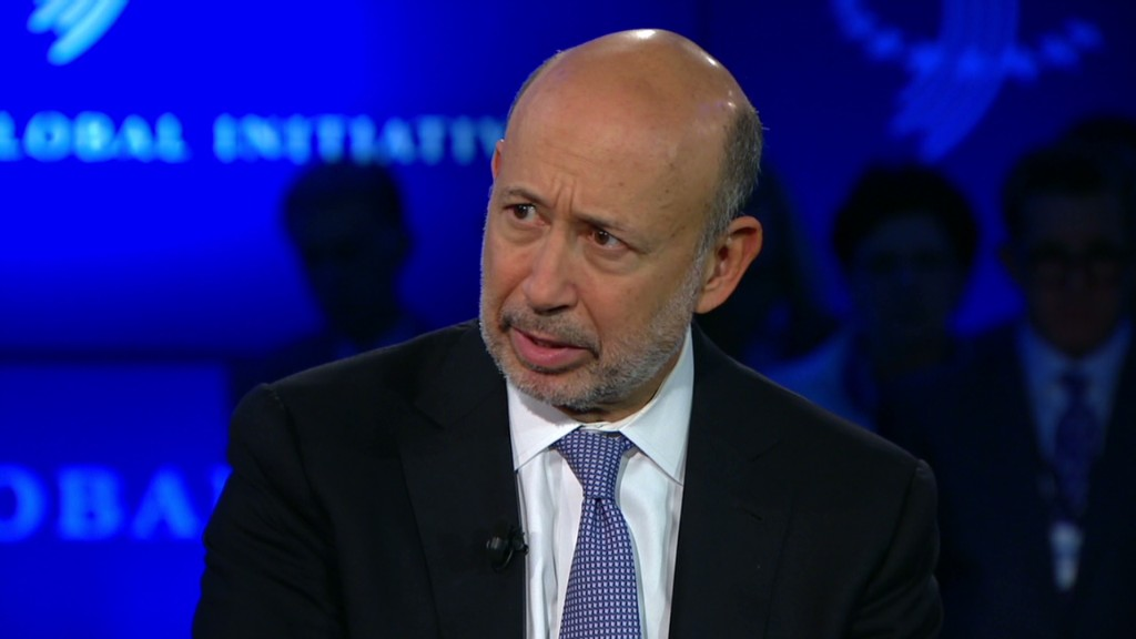 Blankfein: Shutdown threat is bad policy