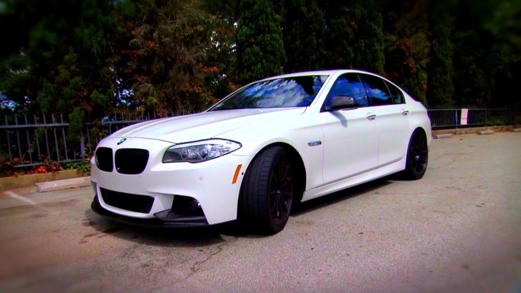 Dinan BMW 550xi: Ultimate performance car