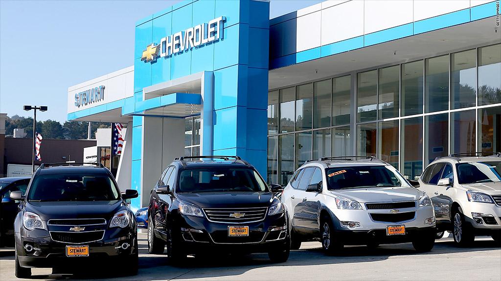 chevrolet car sales